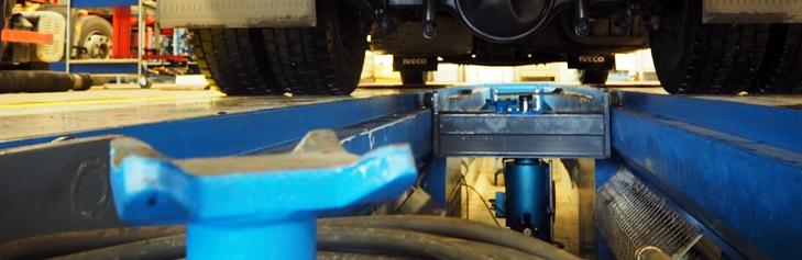 Pozáruční opravy Truck&Bus